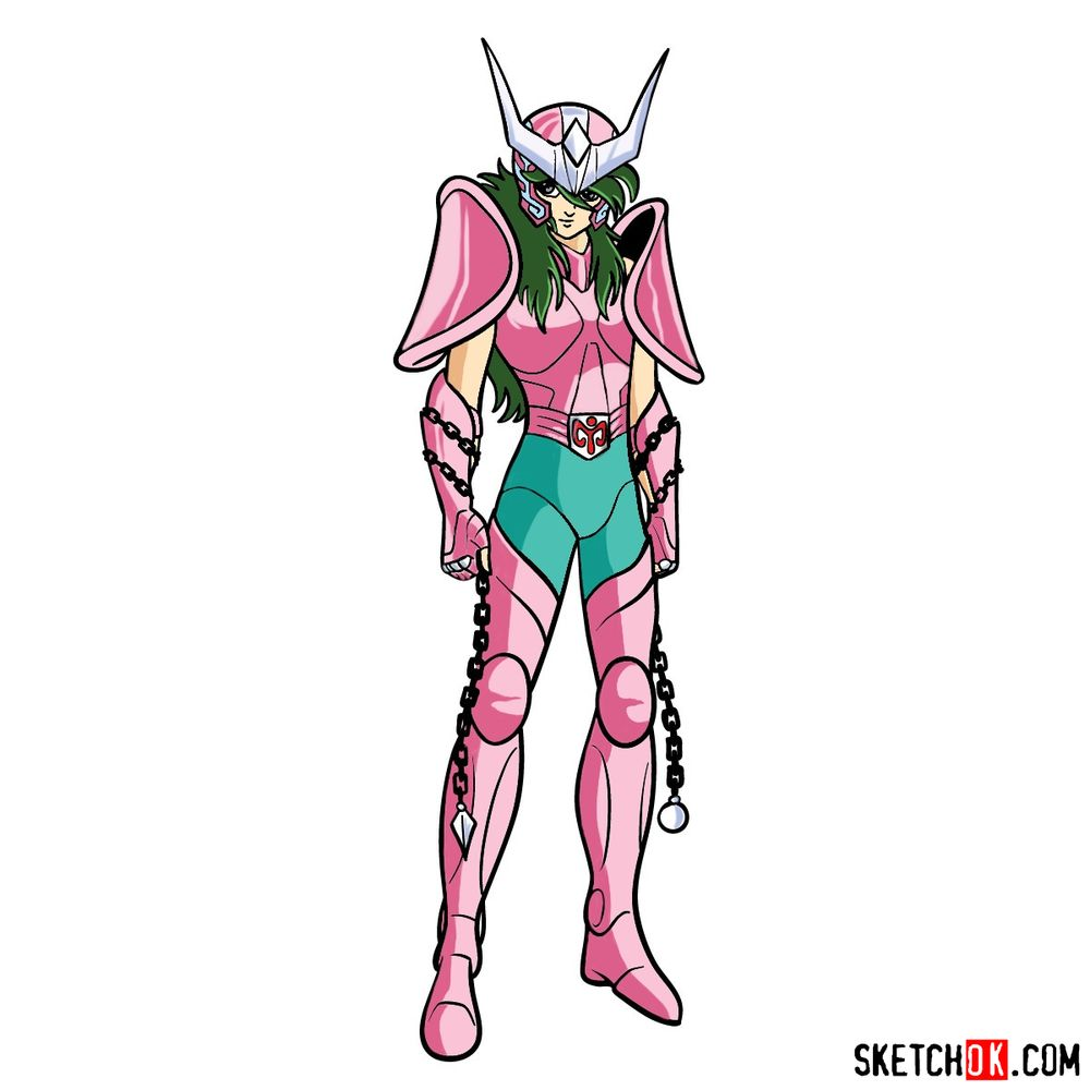How to draw Andromeda Shun