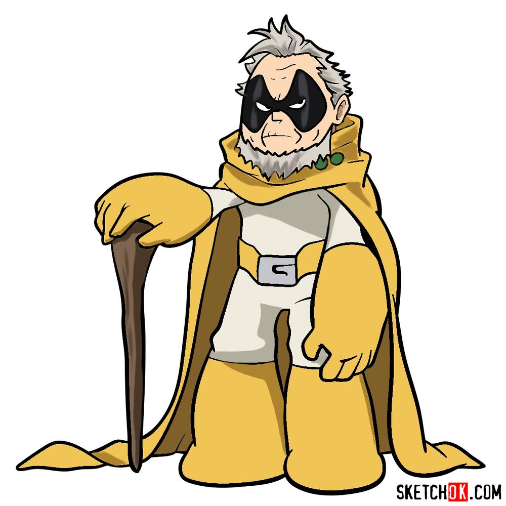 How to draw Gran Torino in full growth