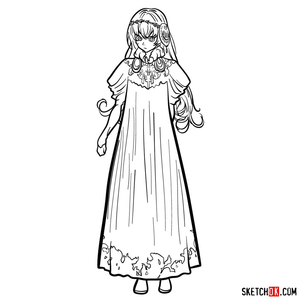 How to draw Lux Sibyl