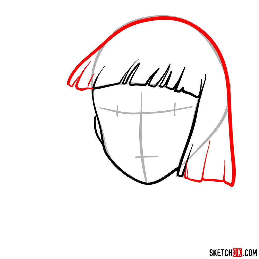How to draw Haku (Spirited Away) - step 04