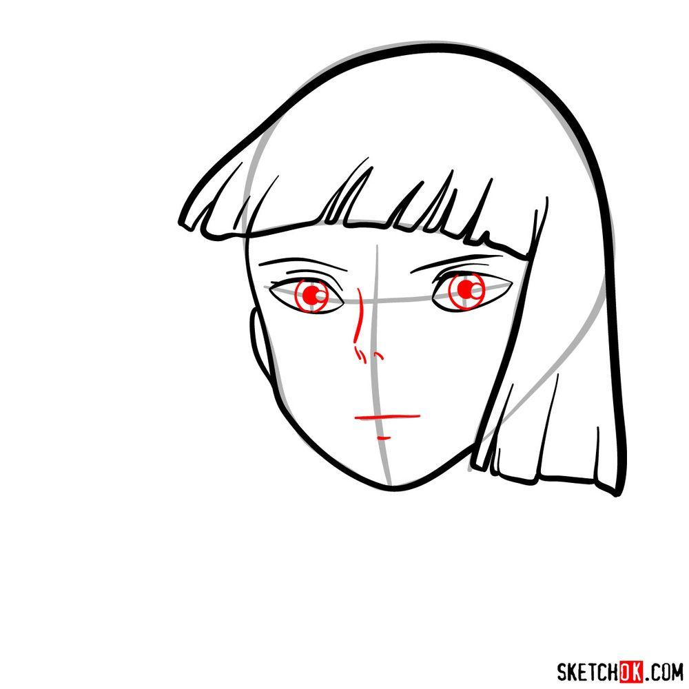 How to draw Haku (Spirited Away) - step 06