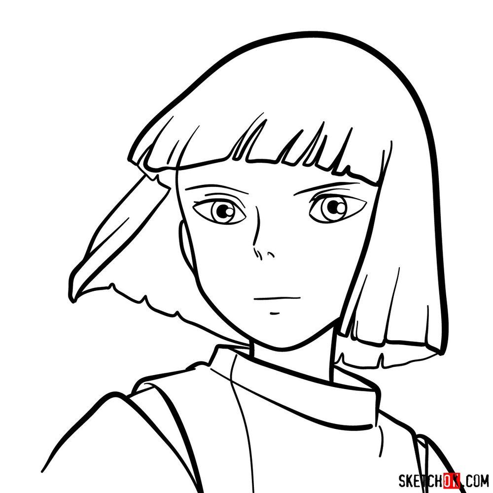 How to draw Haku (Spirited Away)