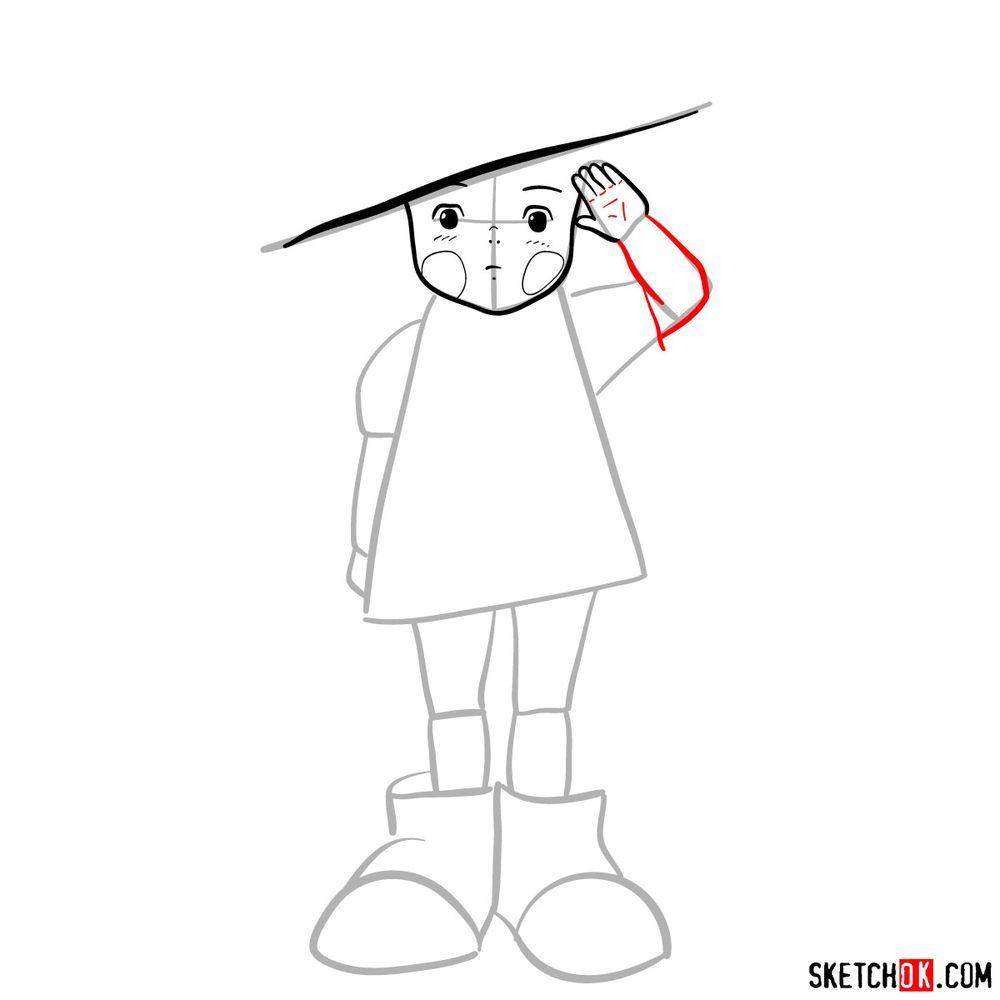 How to draw Setsuko Yokokawa - step 07