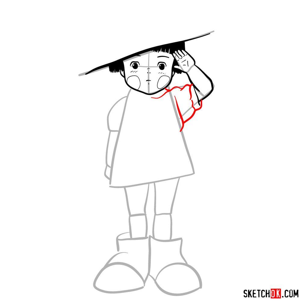 How to draw Setsuko Yokokawa - step 09