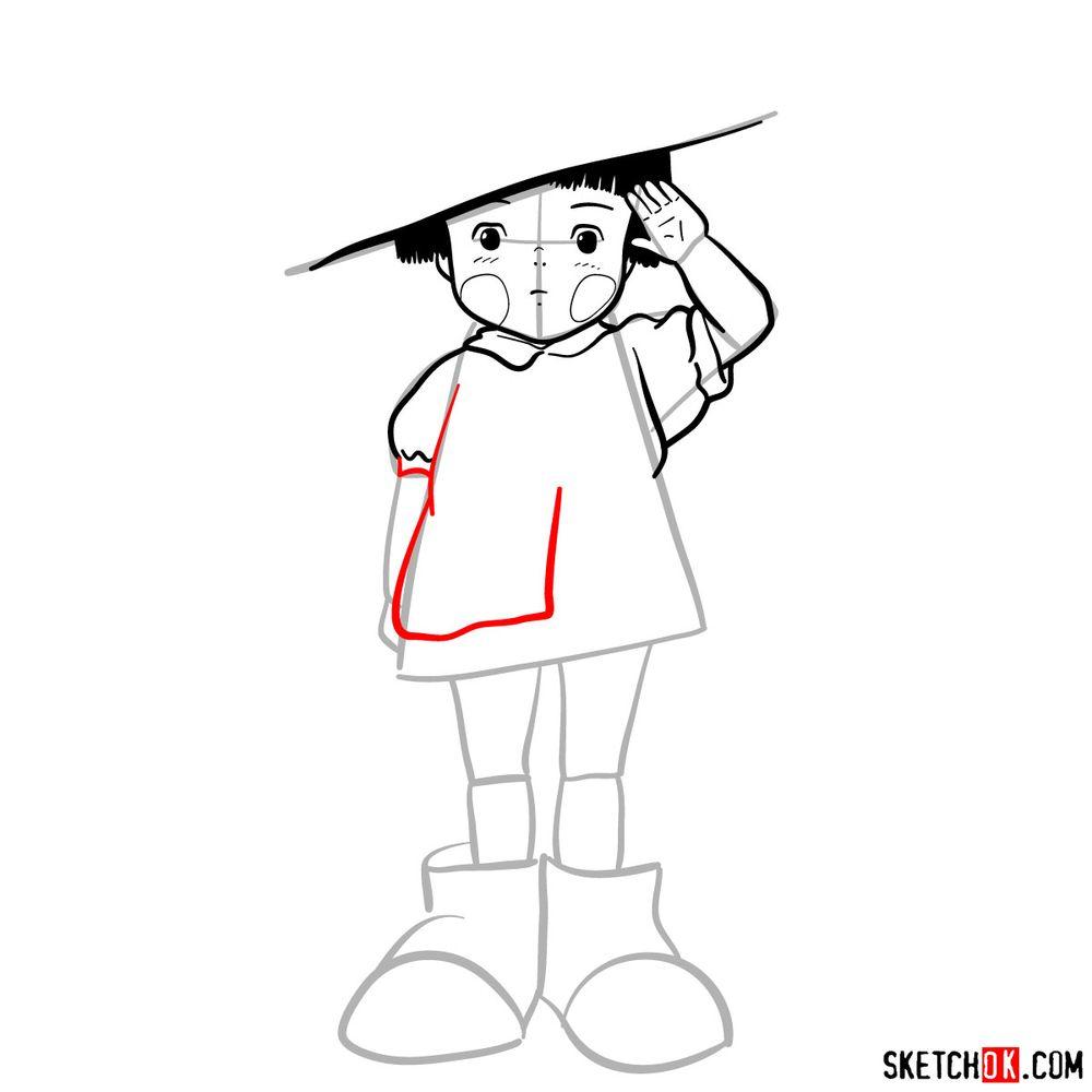 How to draw Setsuko Yokokawa - step 11