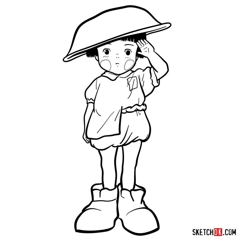 How to draw Setsuko Yokokawa