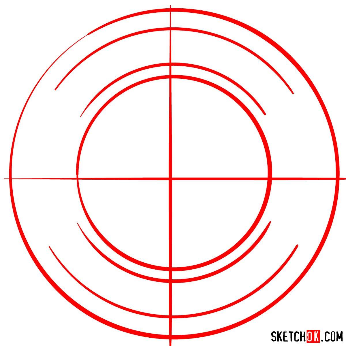 How to draw Oakland Athletics logo | MLB logos - step 01