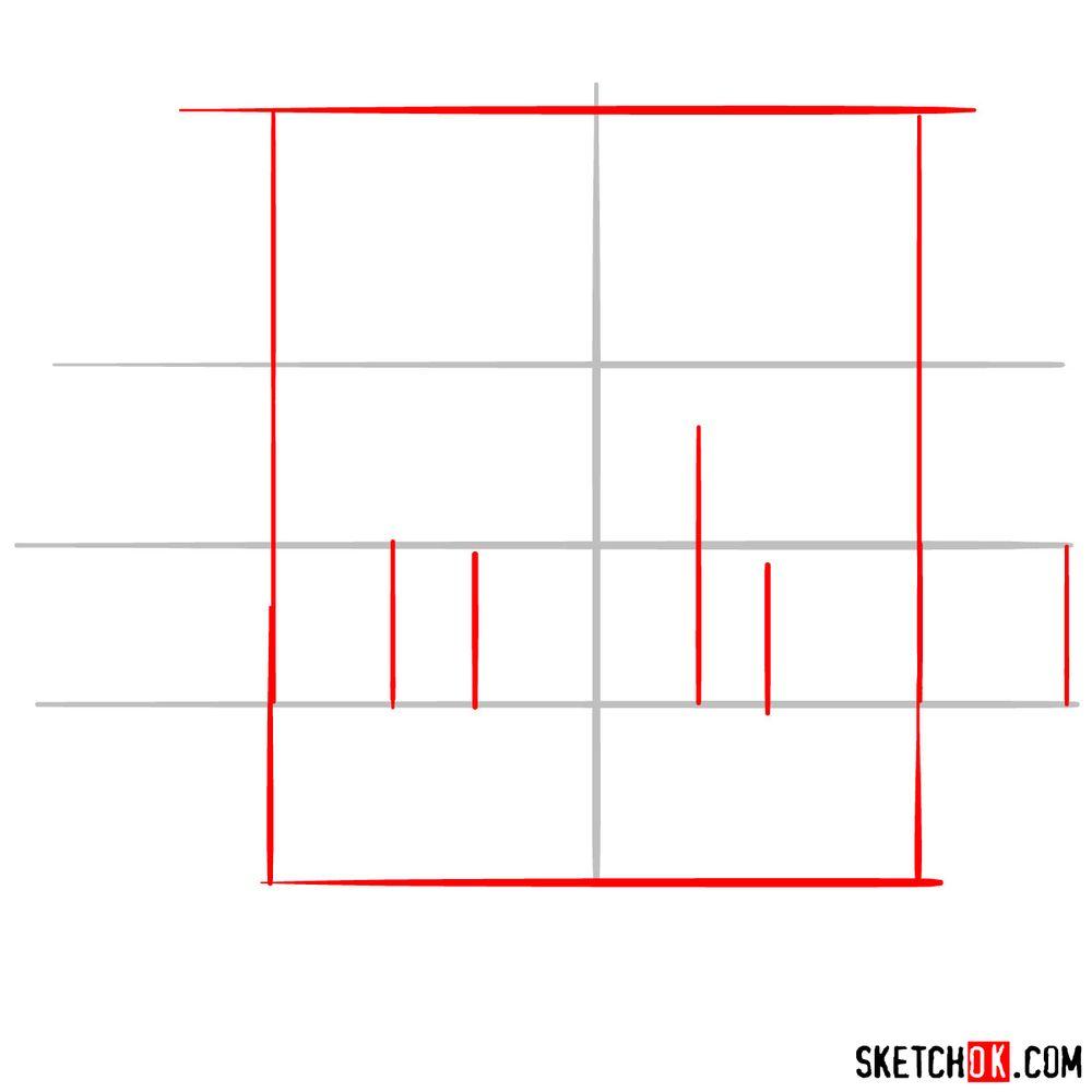 How to draw The Philadelphia Phillies logo - step 02